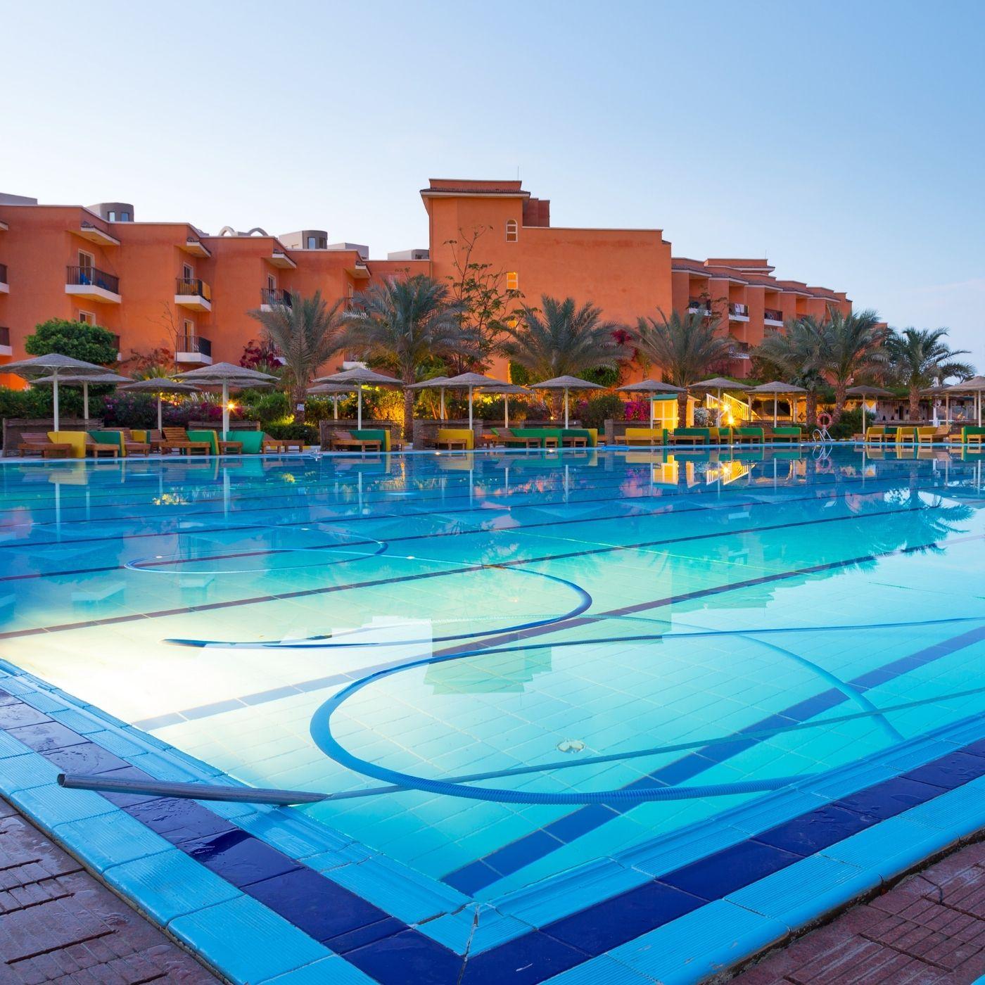 Resort Hurghada by night